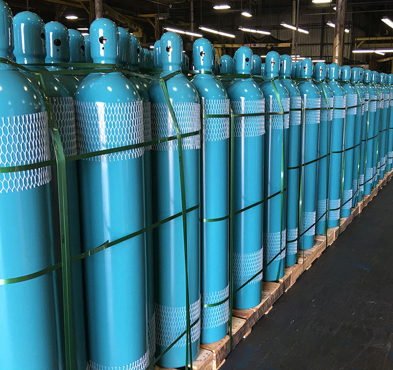 Norris Cylinders Ready for Shipping